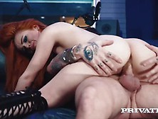 Private. Com - Ella Hughes Cums In Her Hairy Pussy