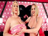 Two Voluptuous Busty Women