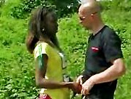 African Amateur Fucked Outdoors