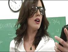 Sarah Glasses Rimjob Gangbang