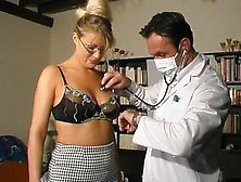 Two Kinky Doctors Will Bang A Sexy Female Patient
