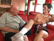 Mature Granny With Black Hair Gets Fucked