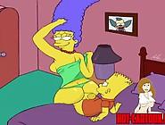 Cartoon Porn Simpsons Porn Marge Fuck His Son Bart
