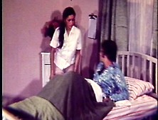 Nurse With A Hairy Pussy Fucks With Her Patient In Vintage Porn