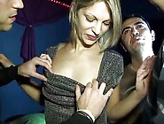 French Casting 133 Blonde Teen Babe In Gangbang