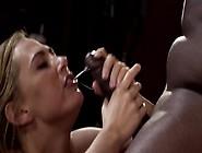 Lovely Barmaid Has An Affair With Hung Ebony Customer