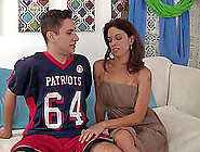 Hot Milf Eva Long Finds Satisfaction With A Big Cock Guy