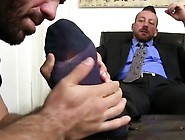 Male Foot Fucking Gay Ricky's Deft Mouth And Tongue Shortly