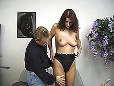 Tall Foreign Amateur Auditioning In Europe