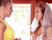 Pre-Wedding Lesbian Fun With Samantha Saint And Nicole Aniston