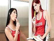 Gina Valentina & Zara Ryan In Field Hockey Babes - Brazzers