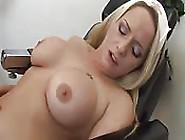 Blonde Nurse Gets Down