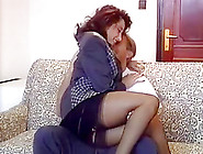 Hottest Stockings Clip With German, Vintage Scenes