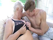 Old And Young Sexual Experience Of Granny And Teen Boy