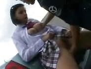 Schoolgirl Groped On Bus And Fucked In Parking