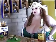 Bbw Dawn Perignon Having Tequila Body Shot