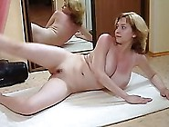 Busty Blonde Russian Teen Worksout And Stretchs Her Perfect Body