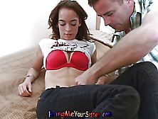 Tiny Little Sister Sucks Huge Cock As Not Her Brother Films