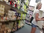 Braless Shopping,  Wit... C :-)