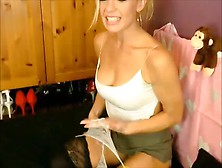 Blonde Milf Goes Wild