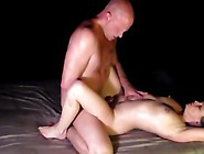 Milf Outdoor Nighttime Dirty Talking Fuck