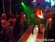 Ebony Stripper Dancing At Sexparty