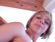 Mature Blond Lady,  Brianna Beach Likes To Tease Her Sex Slave Wh