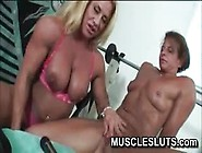 Big Clit Muscle Babe Get A Pussy Workout
