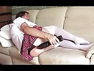 Transvestite Sissy Schoolgirl Anal Fisting Lingerie 207 3