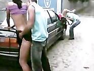 Brazilian Couples Having A Fun Outdoor Casais Zuando Na Rua