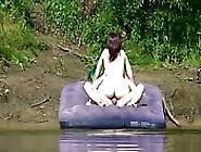 Pillados Follando En El Lago