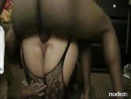 Bbw Gets African Cock Balls Deep In Her Bum