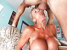 Tall And Leggy Mature Harlot With Big Breasts Gets Fucked Doggy