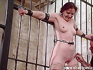 ### Caroline Pierces Frontal Whipping And Tied Dungeon Bondage O