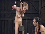 Painful Pussy Punishment For The Pigtailed Cutie