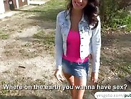 Pretty Hot Brunette Bessi Fucks A Dick Like A Champ Video