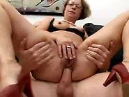 Granny Rough Fisted & Ass Fucked
