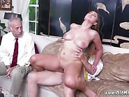 Old Wife Ivy Impresses With Her Huge Boobs And Ass