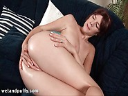 Big Boobs Brunette Teen With A Wet Vagina