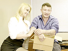 Sarah Vandella Seduces A Co-Worker For An Incredible Fuck