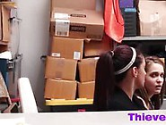 Brunette Teen And Step Mom Doggy Style Office Video