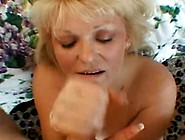 Nasty Mom Exposes Her Juggs And Sucks Dick