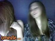 Two Sexy Teens Play Together On Omegle