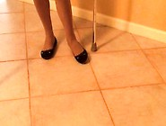 Cock Shoe Jerk Off Crippled Polio