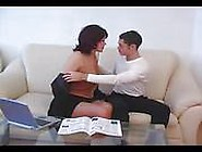 Mature Mom Fucked By Young Boy (Amateur Teen )