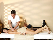 Sexy Babe Banged By Her Masseur Stepdad