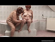 Chunky Mature Ladies Lick And Finger Each Other's Fiery Peaches