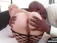 Phat Booty Blonde Anal Fucked By Big Black Cock