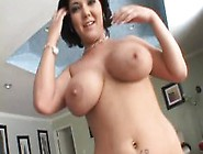 Big Breasted Beauty Sharing A Stiff Cock With A Sexy Slim Young