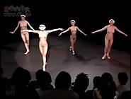 4 Family Daughters Nude Ballet Dance. Mp4